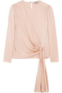 https://www.net-a-porter.com/gb/en/product/731650/lanvin/draped-crepe-de-chine-blouse