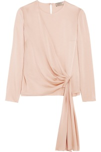 https://www.net-a-porter.com/gb/en/product/731650/lanvin/draped-crepe-de-chine-blouse