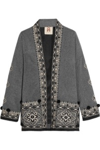 http://www.matchesfashion.com/products/Figue-Haveli-embroidered-wool-and-cashmere-blend-jacket--1064504