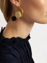 http://www.matchesfashion.com/products/Marni-Sphere-drop-hoop-earrings-1076858