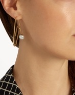 http://www.matchesfashion.com/products/Hillier-Bartley-Embellished-gold-plated-paperclip-earring--1094624