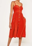 Similar here: https://www.urbanoutfitters.com/en-gb/shop/uo-positano-bright-red-button-through-midi-dress?category=dresses&color=060&type=REGULAR