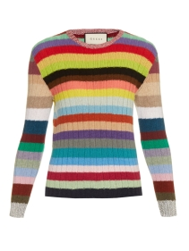 https://www.matchesfashion.com/products/Gucci-Long-sleeved-striped-cashmere-blend-sweater-1155062