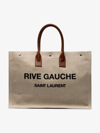 https://www.matchesfashion.com/products/Saint-Laurent-Rive-Gauche-canvas-tote-bag--1186355