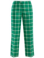https://www.matchesfashion.com/products/REDValentino-Oversized-checked-wool-trousers-1184209