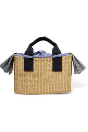 https://www.net-a-porter.com/gb/en/product/1007969/muun/ninon-straw-and-gingham-cotton-canvas-tote