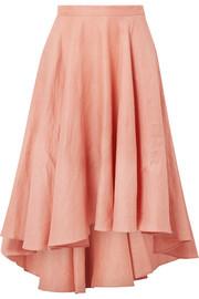 https://www.net-a-porter.com/gb/en/product/1016993/miguelina/gale-pleated-linen-midi-skirt