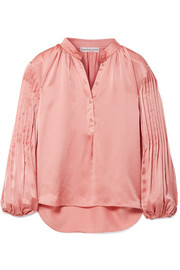 https://www.net-a-porter.com/gb/en/product/1007995/apiece_apart/bravo-pleated-hammered-silk-satin-blouse