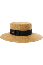https://www.net-a-porter.com/gb/en/product/1061018/Gucci/grosgrain-trimmed-glittered-straw-hat-