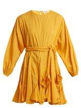 https://www.matchesfashion.com/products/Rhode-Resort-Ella-round-neck-tie-waist-cotton-dress-1183018