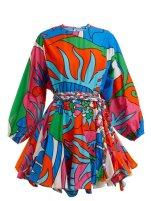 https://www.matchesfashion.com/products/Rhode-Resort-Ella-floral-print-tie-waist-cotton-dress-1221082