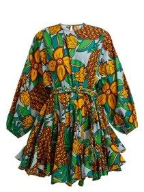 https://www.matchesfashion.com/products/Rhode-Resort-Ella-pineapple-print-cotton-mini-dress-1221086