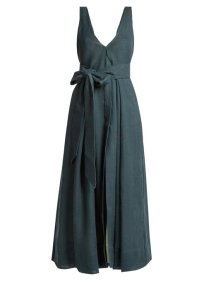 https://www.matchesfashion.com/products/Kalita-Poet-by-the-Sea-tie-waist-linen-dress--1206962