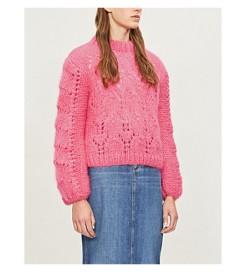 http://www.selfridges.com/GB/en/cat/ganni-julliard-cable-knit-mohair-and-wool-blend-jumper_1049-3004848-K1118/
