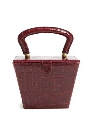 https://www.matchesfashion.com/products/Staud-Sadie-mini-crocodile-effect-leather-box-bag-1250234