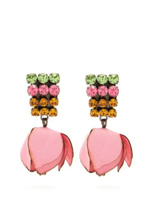 https://www.matchesfashion.com/products/Marni-Crystal-embellished-flower-drop-clip-on-earrings-1244437