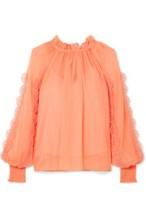https://www.net-a-porter.com/gb/en/product/1059282/see_by_chloe/shirred-appliqued-chiffon-blouse