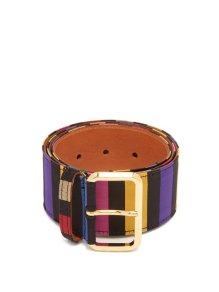 https://www.matchesfashion.com/products/Etro-Striped-satin-belt-1209895