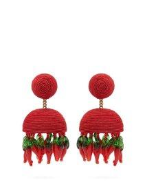 https://www.matchesfashion.com/products/Rebecca-de-Ravenel-Paprika-beaded-cord-clip-on-earrings-1266148