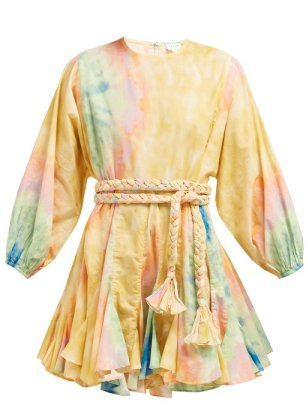 https://www.matchesfashion.com/products/Rhode-Resort-Ella-tie-dyed-cotton-mini-dress-1247871