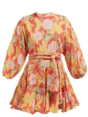 https://www.matchesfashion.com/products/Rhode-Resort-Ella-floral-print-cotton-mini-dress-1247872