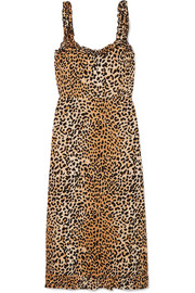 https://www.net-a-porter.com/gb/en/product/1130297/Faithfull_The_Brand/noemie-ruffled-shirred-leopard-print-crepe-dress