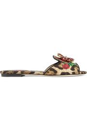 https://www.net-a-porter.com/gb/en/product/1102275/Dolce_and_Gabbana/crystal-embellished-leopard-and-floral-print-canvas-slides