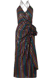 https://www.net-a-porter.com/gb/en/product/1132059/Attico/metallic-striped-jacquard-wrap-dress