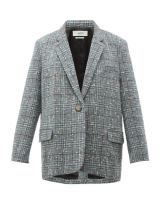https://www.matchesfashion.com/products/Isabel-Marant-Étoile-Korix-single-breasted-checked-bouclé-blazer-1284519