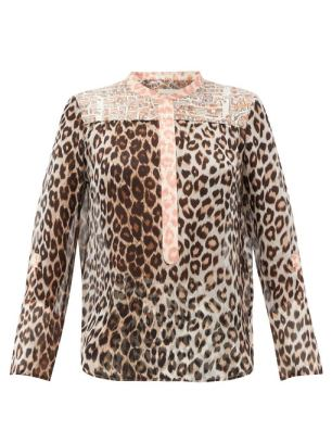 https://www.matchesfashion.com/products/La-Prestic-Ouiston-Romee-leopard-print-silk-mousseline-blouse-1338470