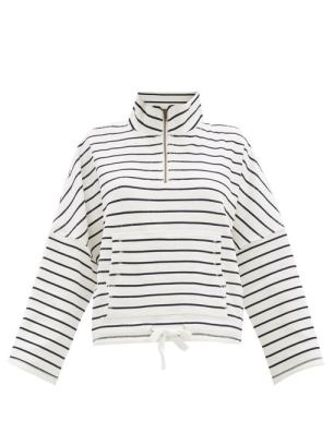 https://www.matchesfashion.com/products/The-Upside-Tiena-high-neck-striped-jersey-sweatshirt-1363382