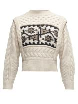 https://www.matchesfashion.com/products/Isabel-Marant-Étoile-Rioja-jacquard-patterned-cable-knit-wool-sweater-1360095